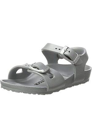 Birkenstock Rio Eva, Unisex Kids Slingback Sling Back Sandals, (Metallic )