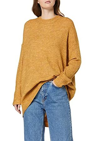 ONLY Women's Basic-t-Shirt, V-Ausschnitt, Relaxed, Baumwolle Jumper