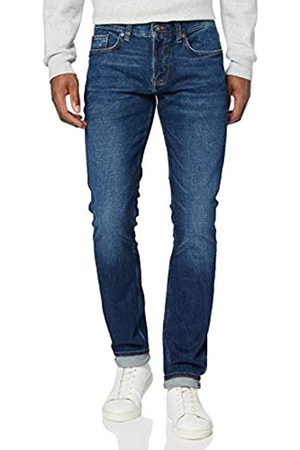 Tommy Hilfiger Men's Xtra Slim Layton PSTR Crane Loose Fit Jeans