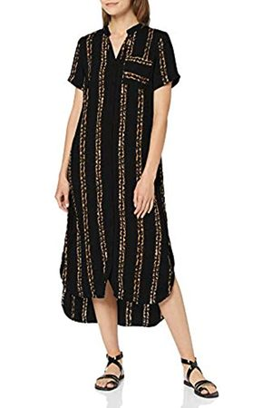 Vero Moda Women's Vmdalion S/s Slit Shirt Dress Exp
