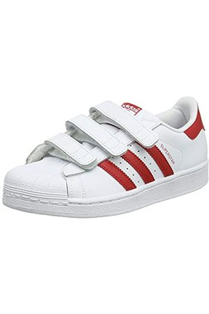 adidas Unisex Kids' Superstar Cf C Fitness Shoes, (Blanco 000)