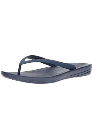 FitFlop Iqushion Ergonomic Flip-Flops, Men Open Toe Sandals, (Midnight Navy 399)