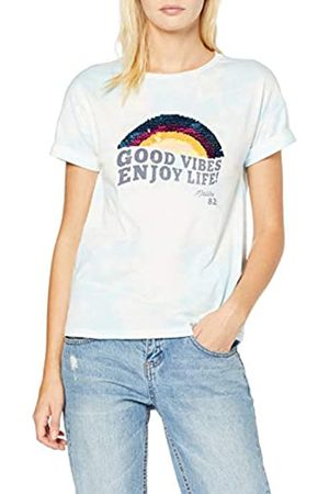 Springfield 8.0.franq Tie Dye Lentejuelas T-Shirt Women's Medium (Manufacturer's size:M)