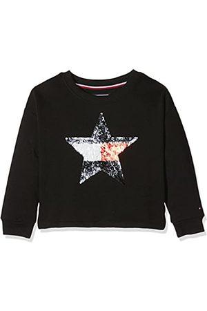 Tommy Hilfiger Girl's H Sequins Star Cn HWK L/s Sweatshirt