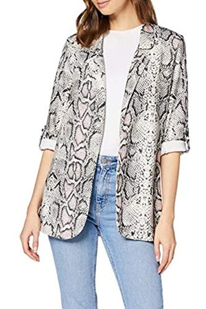 New Look Women's Serena Snake Blazer Suit Jacket