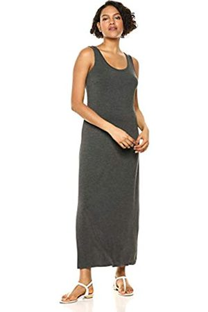Amazon Solid Tank Maxi Dress Casual