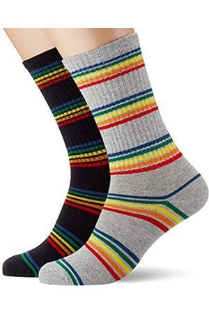 Urban Classics Socken Rainbow Stripes Socks 2-Pack