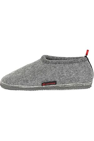 Giesswein Slipper Tambach 37 - Closed Felt Slippers for Men & Women, Changeable Footbed, Warm Unisex House Shoe, Mules, Comfortable Slippers with Flexible Sole, Non-Slip