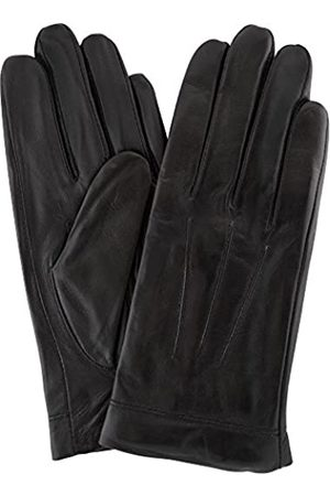 "Snugrugs Womens Butter Soft Premium Leather Glove with Classic 3pt Stitch Design & Warm Fleece Lining - - Large (7.5"")"