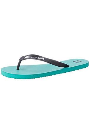 Billabong Men's Tides Solid Flip Flops, (Aqua 804)