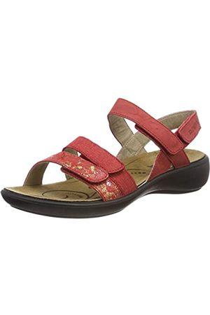 Romika Women's Ibiza 103 Sling Back Sandals, (Carmin-Kombi 461)