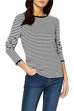 TOM TAILOR Women's Pullover Mit Bogenkante Sweater