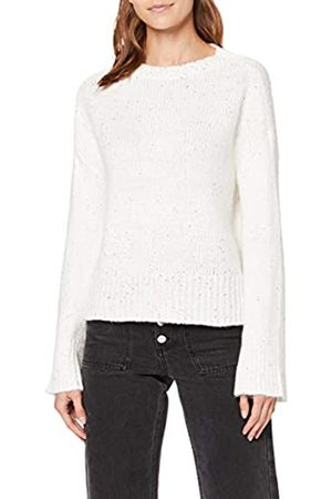 Only Women's Onqcarla L/s Sequins Pullover KNT Jumper