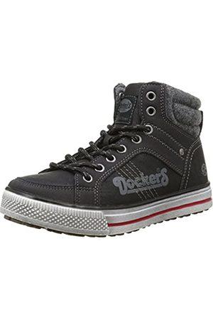 Dockers by Gerli 37nc701-652100, Unisex Kids' Low-Top Sneakers, (Schwarz)