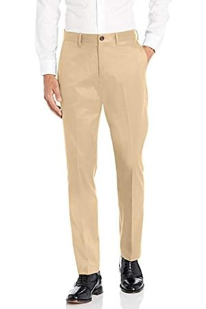 Buttoned Down Athletic Fit Non-iron Dress Chino Pant Wheat
