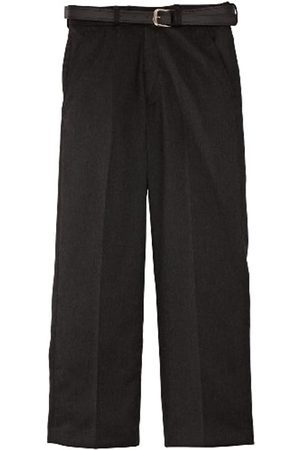 Blue Max Banner Boy's Falmouth Flat Front with Fly School Trousers