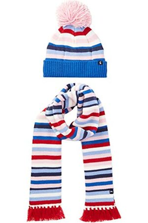 Joules Girl's Snowy Scarf, Hat & Glove Set