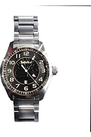 Timberland Mens Analogue Quartz Watch with Stainless Steel Strap 4895148698365