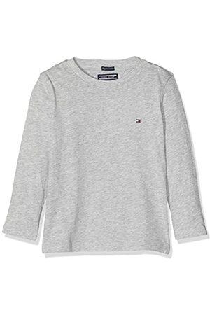 Tommy Hilfiger Jungen Boys Basic Cn Knit L/S T-Shirt, Grau ( Heather 004)