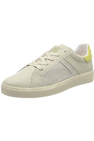 SCOTCH & SODA FOOTWEAR Women's Laurite Low-Top Sneakers, (Cream-Citrus S141)