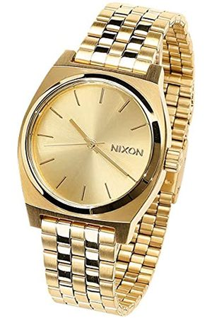 Nixon Women's Analogue Quartz Watch with Stainless Steel Plated Strap A1130502-00