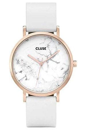 Cluse Womens Analogue Classic Quartz Watch with Leather Strap CL40010