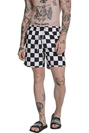 Urban Classics Men's Check Swim Shorts