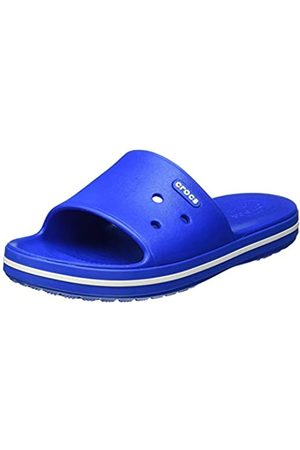Crocs Unisex Adults' Crocband III Slide Open Toe Sandals, (Bright Cobalt/ 4kg)