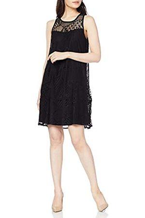 Desigual Women's Vest_Keira Dress, (Negro 2000)