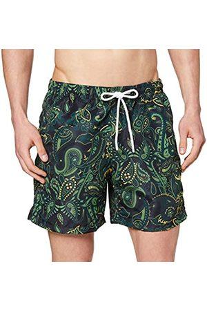 Urban classics Men's Badehose Paisley Swim Shorts Trunks