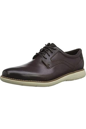 Rockport Men's Garett Plain Toe Oxfords, (Java Gradient 003)