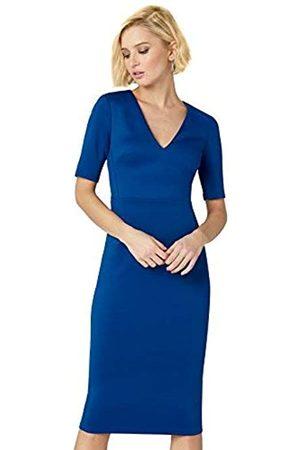 TRUTH & FABLE Amazon Brand - Women's Midi Bodycon Dress, 8