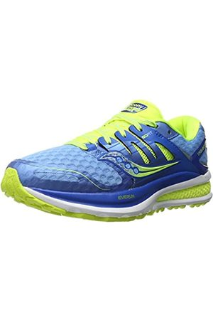 Saucony Triumph Iso 2, Women's Competition Running Shoes, ( /lightblue/citron)