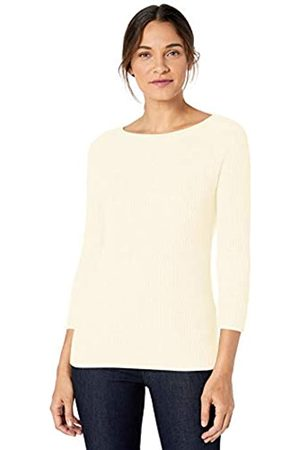 Lark & Ro 3/4 Sleeve Ballet Neck Rib Sweater Winter