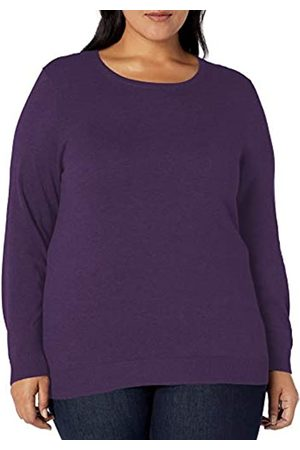 Amazon Essentials Plus Size Lightweight Crewneck Cardigan Sweater Heather