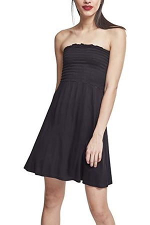 Urban classics Women's Ladies Smoke Bandeau Dress