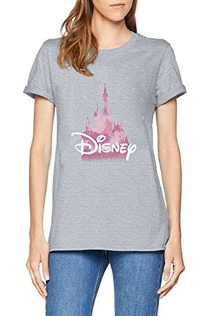 Disney Women's Castle T-Shirt, (Sport Spo)