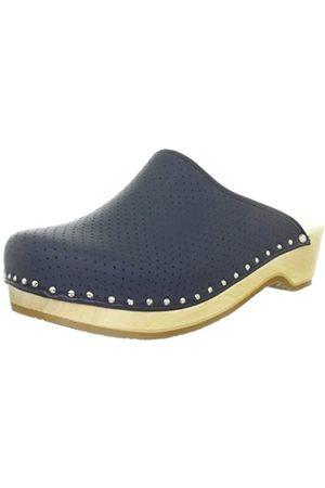 Berkemann Standard-Toeffler, Unisex - Adults Clogs & Mules Clogs, (Blau)