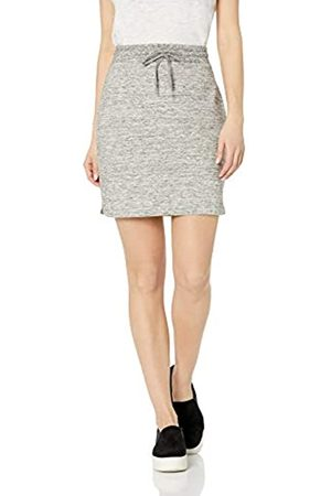 Daily Ritual Women's Terry Cotton and Modal Sweatshirt Skirt