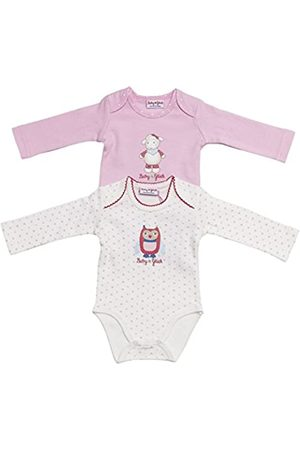 Salt & Pepper SALT AND PEPPER Baby Girls Crew Neck Long Sleeve Bodysuit - Multicoloured - 0-3 Months