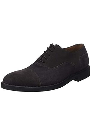 Lottusse Men's L6591 Oxfords, (Buckster Moka)