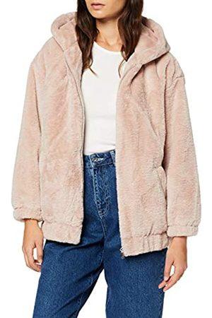New Look Petite Women's P Frankie Fur Hooded Bomber Jacket