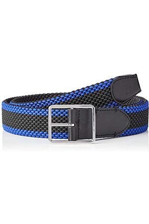 Calvin Klein Men's 35MM Braided Fixed Elastic Belt