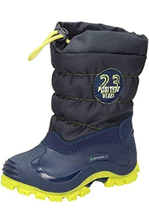 Spirale Unisex Kids' Eric Snow Boots, (Blu/Lime 02319456)