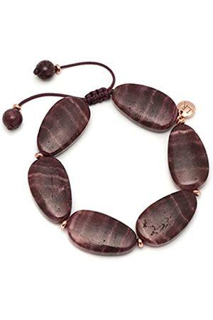 Lola Rose Cordelia Black Plum Aragonite Bracelet of Length 20-26cm