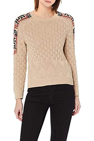 Yargıcı Womens Round Collar Long Sleeve Jumper - - X-Small