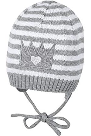 Sterntaler Girls Knit Cap with Bow Strings, Age: 4-5 Months, Size: 41 cm