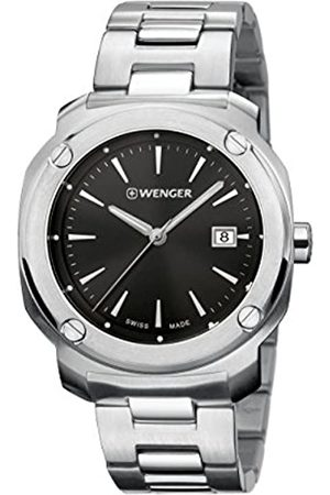 Wenger Men's Analogue Quartz Watch with Stainless Steel Strap 01.1141.109