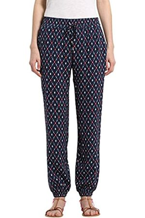 Berydale Women's soft quality trousers, Navy/Red/ /