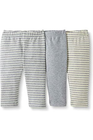 Moon and Back by Hanna Andersson Moon and Back 3 Pack Legging Gray